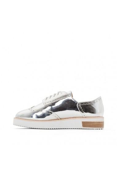 Pantofi Derby MADEMOISELLE R 4521781 Argintiu