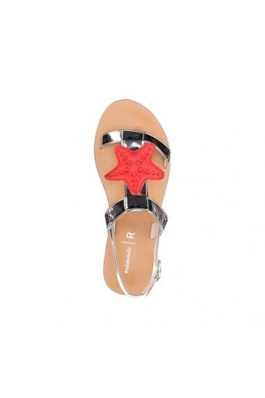 Sandale MADEMOISELLE R 4666666 Argintiu - els