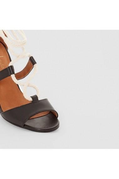 Sandale ATELIER R 4568966 Negru