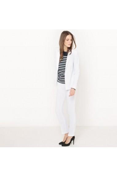 Pantaloni ATELIER R 5998310 Alb - els