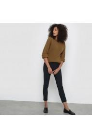 Pantaloni drepti ATELIER R 4940130 bleumarin - els