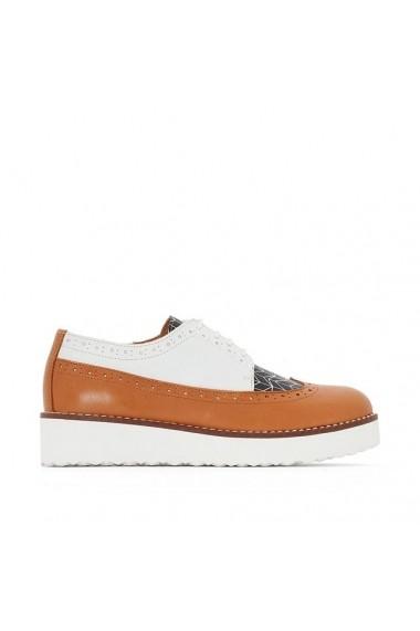 Pantofi Derby R STUDIO 2595982 Maro deschis