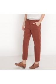 Pantaloni R STUDIO 6065082 Maro-caramiziu - els