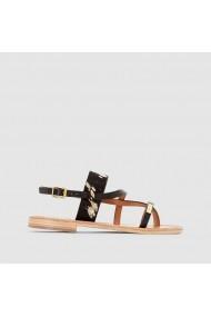 Sandale plate LES TROPEZIENNES par M BELARBI LRD-1684035 negru - els