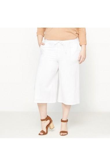 Pantaloni 3/4 CASTALUNA 6447040 Alb - els