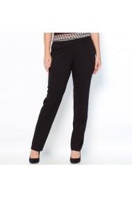 Pantaloni drepti CASTALUNA 5879116 negru - els