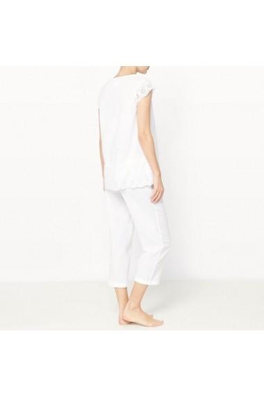 Pijama LOUISE MARNAY 5047021 Alb