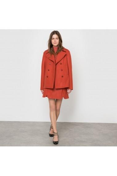 Palton CORALIE MARABELLE X LA REDOUTE MADAME 8186014 portocaliu - els