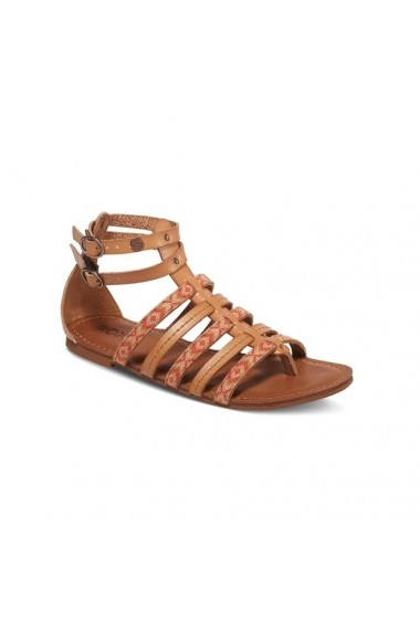 Sandale plate ROXY 2249103 Maro deschis