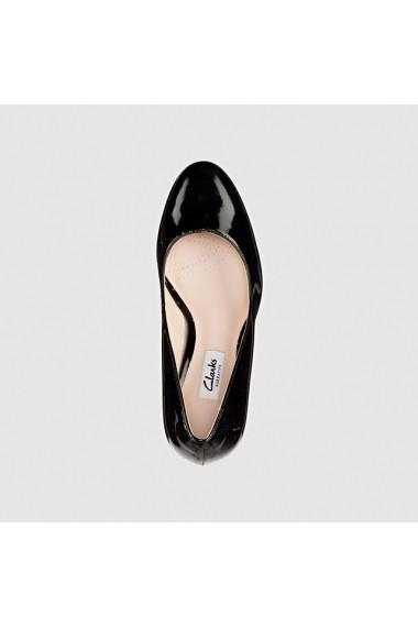 Pantofi cu toc Clarks 5559758 negru - els