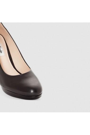 Pantofi cu toc Clarks 8474800 negru