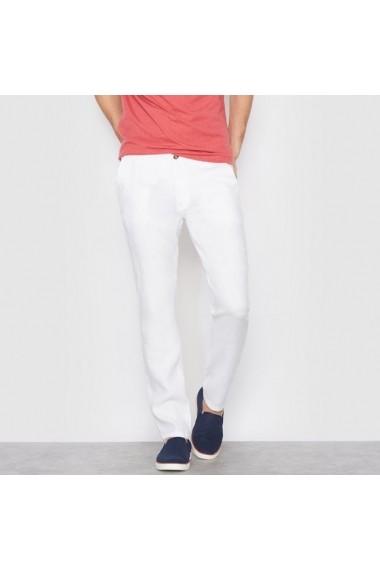 Pantaloni R essentiel 6806452 alb els