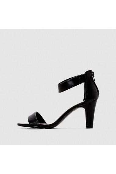 Sandale cu toc TAILLISSIME C4F-7098256 els negru