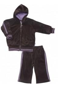 Trening Trendy Purple Velvet pentru fete Le Top USA MINI1889 mov - els