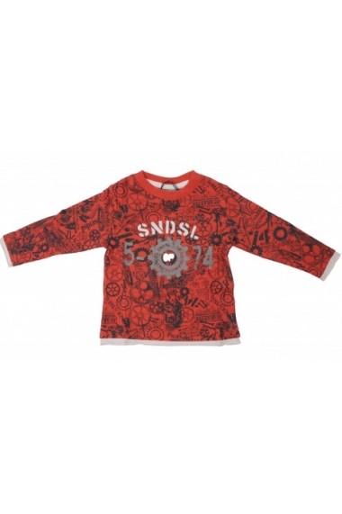Bluza Future Scientist Red pentru baieti SNDSL MINI1914 rosu - els