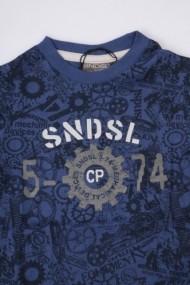 Bluza Future Scientist Blue pentru baieti SNDSL MINI1915 albastru - els