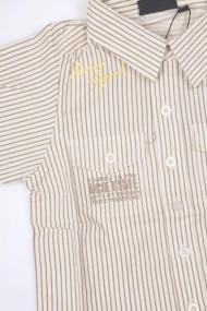 Camasa School Boy White pentru baieti SNDSL MINI1913 alb - els