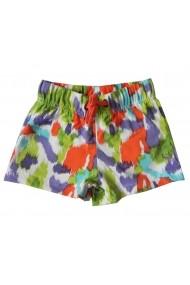 Pantaloni scurti Orange Splash pentru fete Carodel MINI2651 multicolor - els