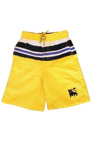 Bermude Plaja Yellow Bull pentru baieti Carodel MINI2040 galben - els