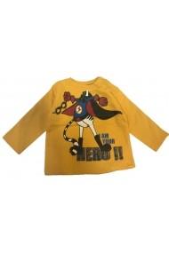 Pulover Baby Hero pentru baieti Carodel MINI2897-galben galben - els