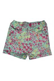 Pantaloni scurti baby Wild Flowers Pink pentru fete Carodel MINI2634 multicolor - els