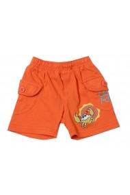 Pantaloni scurti Very Orange Grab pentru baieti Carodel MINI2253 portocaliu - els