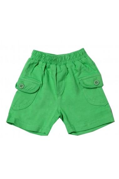 Pantaloni scurti Very Green pentru baieti Carodel MINI2252 green - els