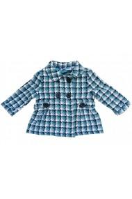 Pardesiu Turqouise Checkers baby Carodel MINI1654 albastru - els