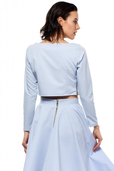 Bluza BeWear BW012 LIGHT BLUE albastru - els