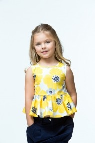 Top pentru fete Rosalita Senoritas 6215060504 galben - els