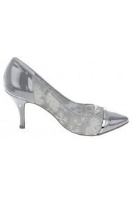 Pantofi cu toc Heine 052162 Gri - els