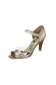 Sandale cu toc Heine C4F-104689 els argintiu