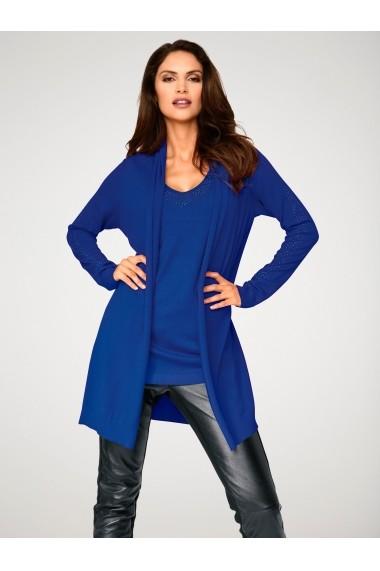 Set cardigan si top heine TIMELESS 009431 bleumarin