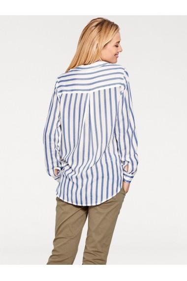 Camasa heine CASUAL 008245 albastru, alb