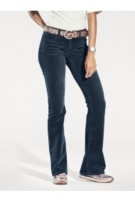 Pantaloni drepti heine CASUAL 153335 bleumarin