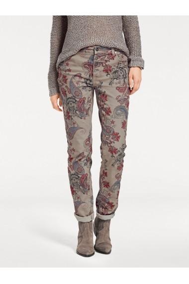 Pantaloni drepti heine CASUAL 003399 bej