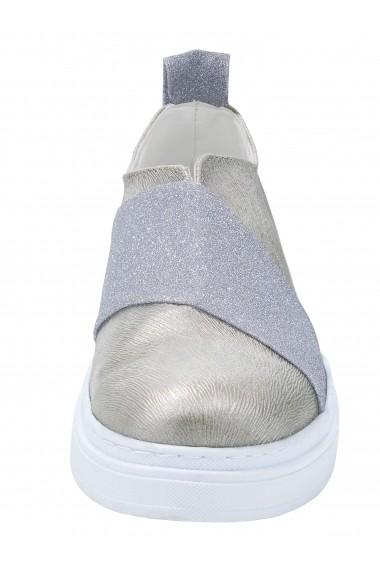 Pantofi Andrea Conti 008687 argintiu - els