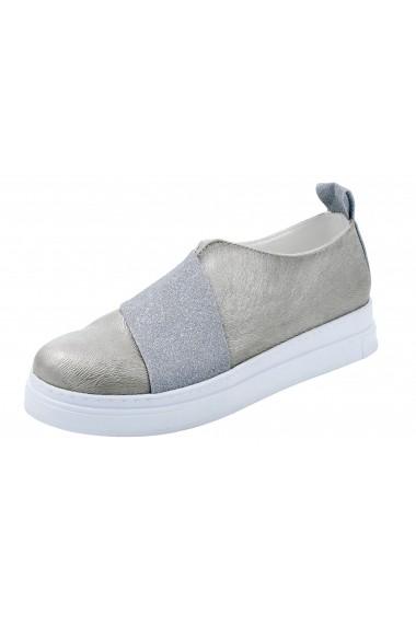 Pantofi Andrea Conti 008687 argintiu
