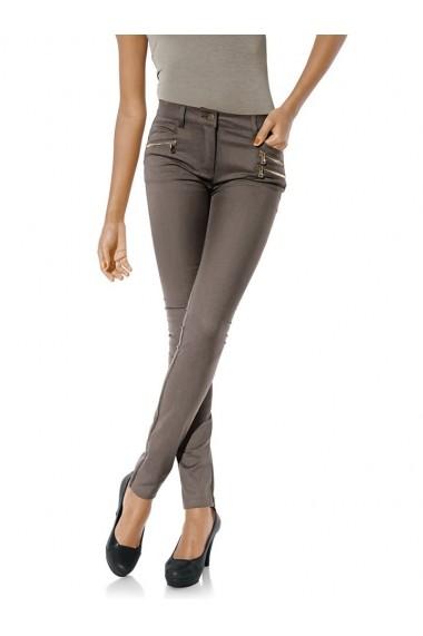 Pantaloni drepti Class International Fx 045740 gri