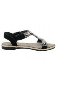 Sandale plate XYXYX 098085 negru