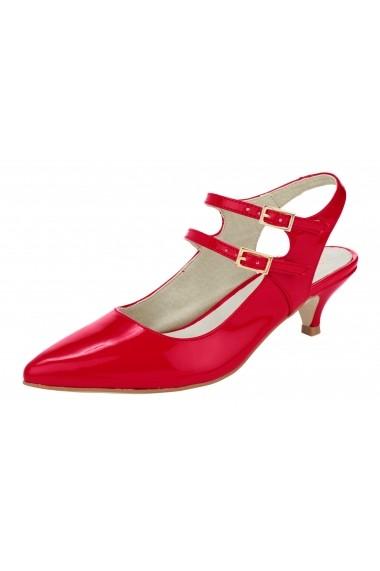 Pantofi Heine 011324 rosu