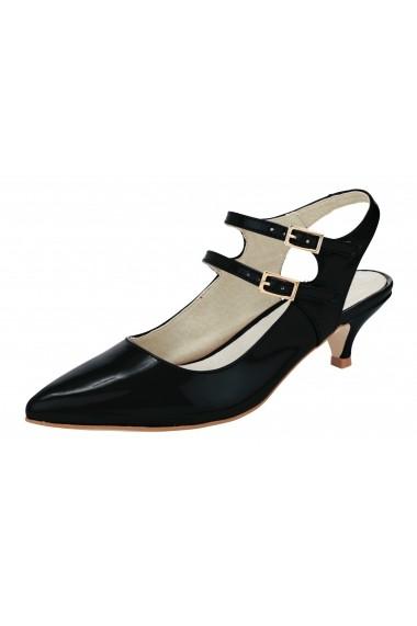 Pantofi Heine 079296 negru
