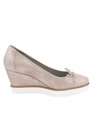 Pantofi Heine 106472 roz - els
