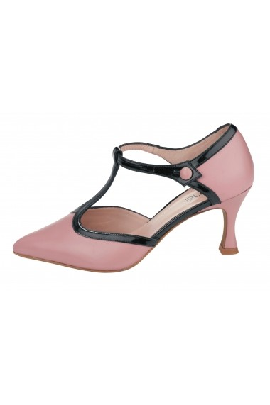 Pantofi Heine 107046 roz