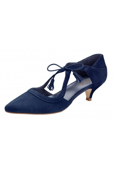 Pantofi Heine 120583 bleumarin