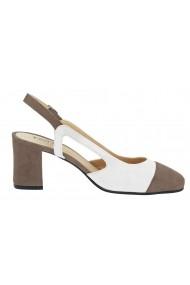 Pantofi Heine 126349 alb