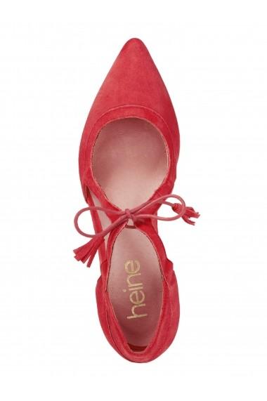 Pantofi Heine 141601 roz
