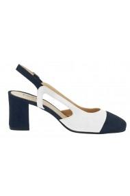 Pantofi Heine 149821 alb - els