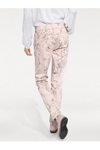 Pantaloni drepti heine STYLE 008664 roz - els