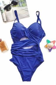 Costum de baie dama intreg Embody basic bretele ajustabile Bluemarin